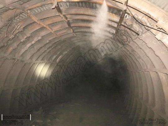 مه پاش در معدن زغال سنگ طبس 1